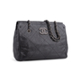Authentic Second Hand Chanel 2011 Hamptons Shopping Tote (PSS-925-00004) - Thumbnail 1