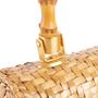 Authentic Vintage (unbranded) Vintage Rattan Bag (PSS-238-00065) - Thumbnail 4