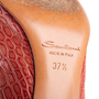 Authentic Second Hand Santoni Rose Collection Embossed Leather Pumps (PSS-238-00069) - Thumbnail 6