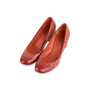 Authentic Second Hand Santoni Rose Collection Embossed Leather Pumps (PSS-238-00069) - Thumbnail 3