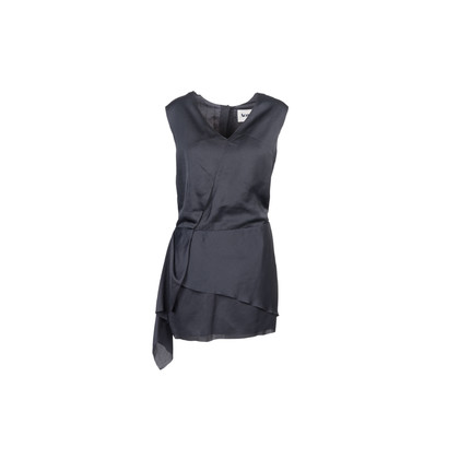 Authentic Second Hand Acne Layered Draped Dress (PSS-929-00010)