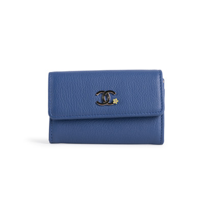 Authentic Second Hand Chanel La Pausa Coin Wallet (PSS-916-00124)