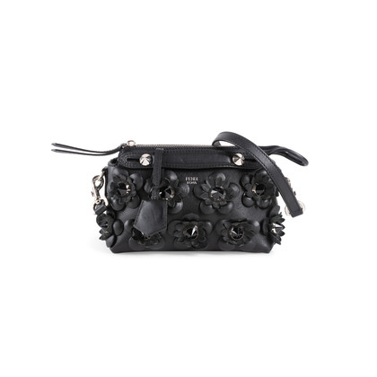 Authentic Second Hand Fendi Flowerland Mini By The Way Bag (PSS-916-00126)