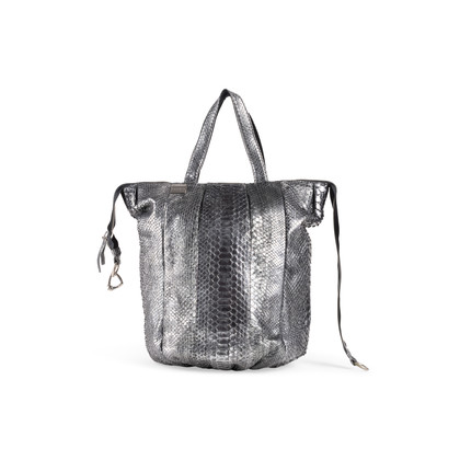 Authentic Second Hand Sang A Pop Python Tote (PSS-916-00128)