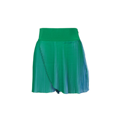 Authentic Second Hand Stella McCartney Amandine Pleated Shorts (PSS-313-00044)