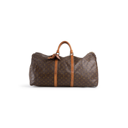 Authentic Vintage Louis Vuitton Monogram Keepall 60  (PSS-931-00001)