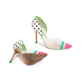 Authentic Second Hand Sophia Webster Jessica Watermelon Pumps (PSS-740-00012) - Thumbnail 5