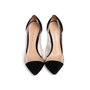 Authentic Second Hand Gianvito Rossi Plexi Suede Pumps (PSS-740-00013) - Thumbnail 0