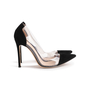 Authentic Second Hand Gianvito Rossi Plexi Suede Pumps (PSS-740-00013) - Thumbnail 1