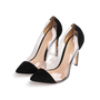 Authentic Second Hand Gianvito Rossi Plexi Suede Pumps (PSS-740-00013) - Thumbnail 3