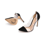 Authentic Second Hand Gianvito Rossi Plexi Suede Pumps (PSS-740-00013) - Thumbnail 4