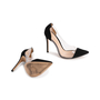 Authentic Second Hand Gianvito Rossi Plexi Suede Pumps (PSS-740-00013) - Thumbnail 5