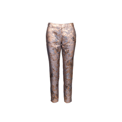 Authentic Second Hand J Mendel Brocade Trousers (PSS-637-00088)