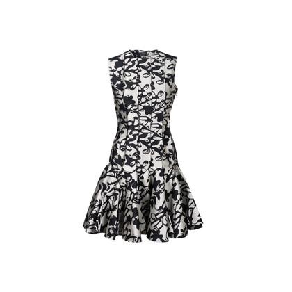 Authentic Second Hand Lanvin Ruffled Hem Dress (PSS-228-00092)