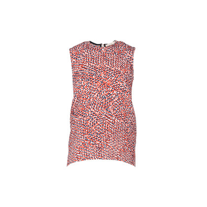 Authentic Second Hand Céline Textured Dotted Stretch Top (PSS-937-00028)