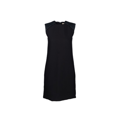 Authentic Second Hand Céline Sleeveless Shoulder-Padded Shift Dress (PSS-937-00029)