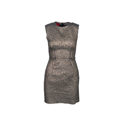 Authentic Second Hand Lanvin Metallic Tweed Dress (PSS-937-00031)