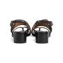 Authentic Second Hand Maison Martin Margiela Metal Circle Slingback Sandals (PSS-637-00110) - Thumbnail 2