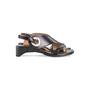 Authentic Second Hand Maison Martin Margiela Metal Circle Slingback Sandals (PSS-637-00110) - Thumbnail 1
