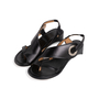 Authentic Second Hand Maison Martin Margiela Metal Circle Slingback Sandals (PSS-637-00110) - Thumbnail 3