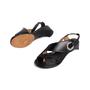 Authentic Second Hand Maison Martin Margiela Metal Circle Slingback Sandals (PSS-637-00110) - Thumbnail 4