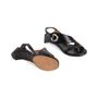 Authentic Second Hand Maison Martin Margiela Metal Circle Slingback Sandals (PSS-637-00110) - Thumbnail 5
