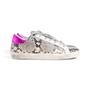 Authentic Second Hand Golden Goose Deluxe Brand Superstar Snake Print Sneakers (PSS-424-00252) - Thumbnail 1