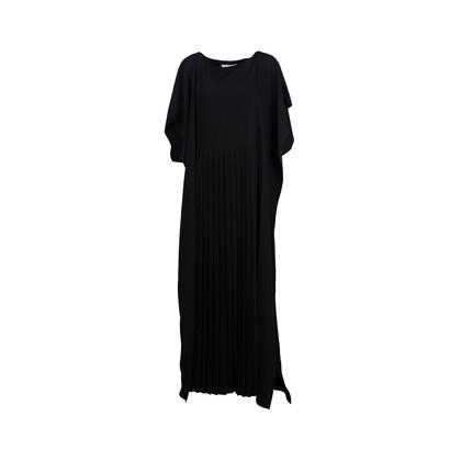 Authentic Second Hand Maison Martin Margiela Pleated Crepe Maxi Dress (PSS-916-00207)