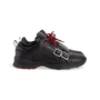 Authentic Second Hand Dior Homme Perforated Buckle Leather Sneakers (PSS-946-00003) - Thumbnail 1