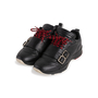 Authentic Second Hand Dior Homme Perforated Buckle Leather Sneakers (PSS-946-00003) - Thumbnail 3