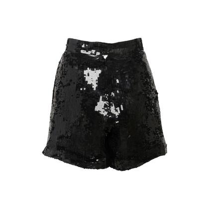Authentic Vintage Jeet Sequin High Waist Shorts (PSS-916-00279)