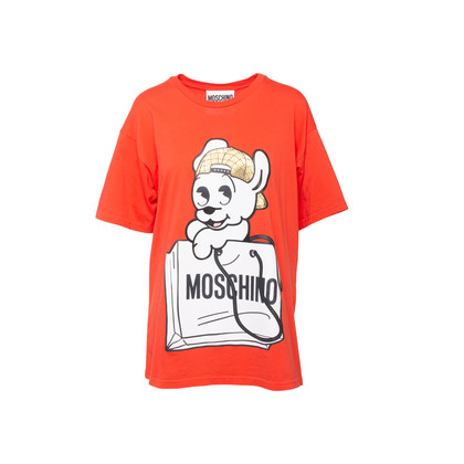 Authentic Second Hand Moschino Pudge T-shirt (PSS-200-01933)