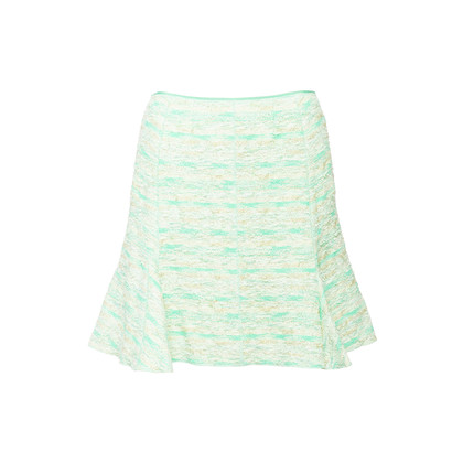 Authentic Second Hand Nina Ricci Tweed Flare Skirt (PSS-097-00592)