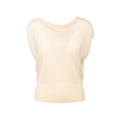 Authentic Second Hand Hermès Cashmere-Silk Blend Knit Top (PSS-097-00599)