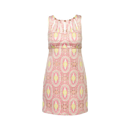 Authentic Second Hand Milly Embroidered Shift Dress (PSS-097-00600)