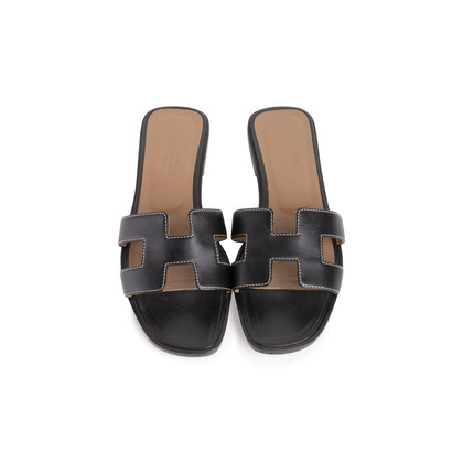 Authentic Second Hand Hermès Oran Sandals  (PSS-355-00050)