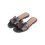 Authentic Second Hand Hermès Oran Sandals  (PSS-355-00050) - Thumbnail 3