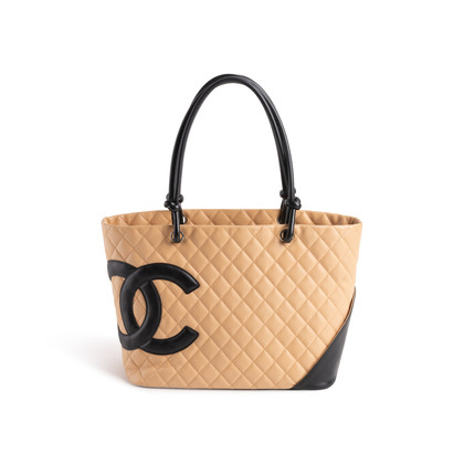 Authentic Second Hand Chanel Ligne Cambon Tote (PSS-052-00032)