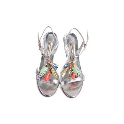 Authentic Second Hand Sophia Webster Layla Tassel Embellished Sandals (PSS-097-00601)