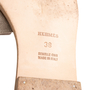 Authentic Second Hand Hermès Iridescent Oran Flats (PSS-097-00611) - Thumbnail 6