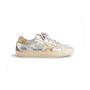 Authentic Second Hand Golden Goose Deluxe Brand Metallic Low-Top Sneaker (PSS-097-00605) - Thumbnail 1