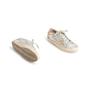 Authentic Second Hand Golden Goose Deluxe Brand Metallic Low-Top Sneaker (PSS-097-00605) - Thumbnail 5