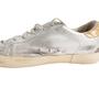 Authentic Second Hand Golden Goose Deluxe Brand Metallic Low-Top Sneaker (PSS-097-00605) - Thumbnail 7