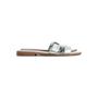 Authentic Second Hand Hermès Metallic Oran Flats (PSS-097-00610) - Thumbnail 1