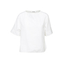 Authentic Second Hand Jil Sander Darted Short Sleeve Blouse (PSS-145-00382) - Thumbnail 0