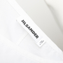 Authentic Second Hand Jil Sander Darted Short Sleeve Blouse (PSS-145-00382) - Thumbnail 2