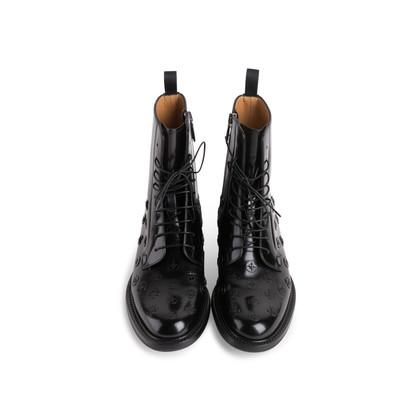 Authentic Second Hand Church's Alexandra Flower Boots (PSS-145-00377)