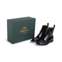 Authentic Second Hand Church's Alexandra Flower Boots (PSS-145-00377) - Thumbnail 7