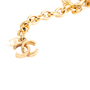 Authentic Second Hand Chanel Pearl and Chain Link Necklace (PSS-017-00024) - Thumbnail 3