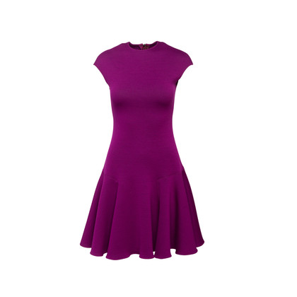 Authentic Second Hand Lanvin Fit And Flare Dress (PSS-956-00014)